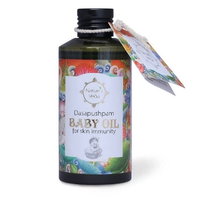 best natural baby massage oil brands in india
