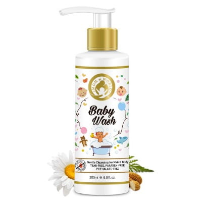 natural baby body wash in india