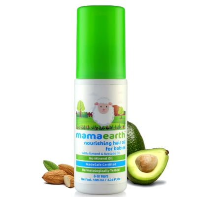 organic hair oil for babies in india