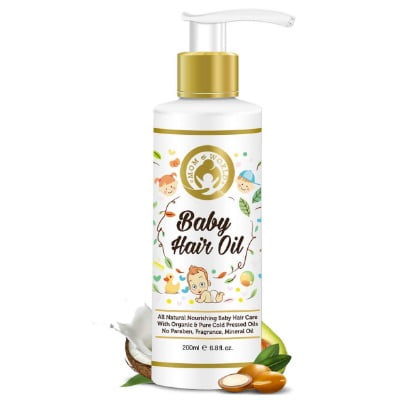 best natural oil for baby hair