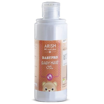baby hair oil brands in india